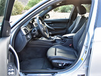 2016 BMW 3 Series, 2016 BMW 340i front seats, gallery_worthy