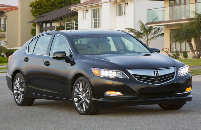 2017 Acura RLX, Front-quarter view, gallery_worthy