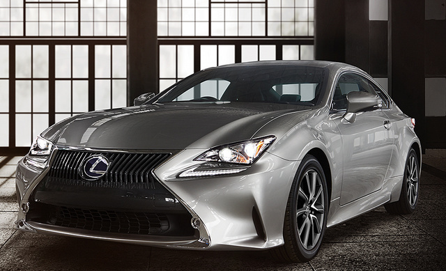 2017 Lexus RC 350, Front-quarter view, exterior, manufacturer, gallery_worthy