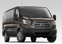 2017 Ford Transit Passenger, Front-quarter view., exterior, manufacturer, gallery_worthy