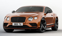 2017 Bentley Continental GT, Front-quarter view., exterior, manufacturer