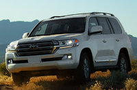 2017 Toyota Land Cruiser, Front-quarter view., exterior, manufacturer, gallery_worthy