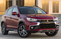 2017 Mitsubishi Outlander Sport, Front-quarter view., exterior, manufacturer, gallery_worthy