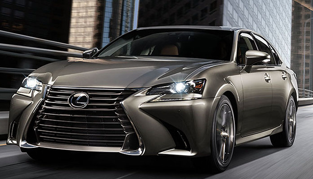 2017 Lexus GS 350, Front-quarter view., exterior, manufacturer, gallery_worthy