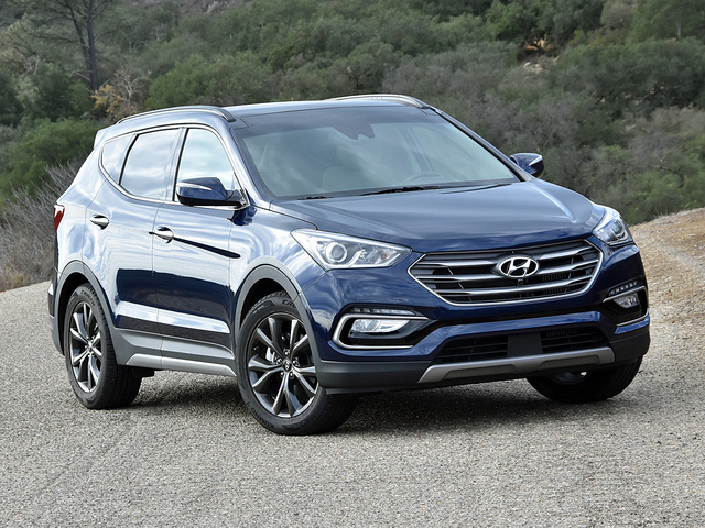 2017 Hyundai Santa Fe Sport 2.0T Ultimate Nightfall Blue