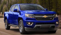 2017 Chevrolet Colorado, Front-quarter view., exterior, manufacturer, gallery_worthy