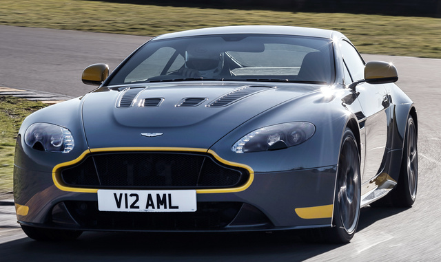 2017 Aston Martin V12 Vantage, Front-quarter view., exterior, manufacturer, gallery_worthy