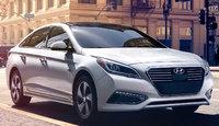 2017 Hyundai Sonata Hybrid, Front-quarter view., exterior, manufacturer, gallery_worthy