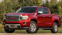 2017 GMC Canyon, Front-quarter view., exterior, manufacturer
