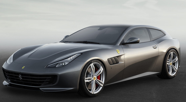 2017 Ferrari GTC4Lusso, Front-quarter view., exterior, manufacturer, gallery_worthy
