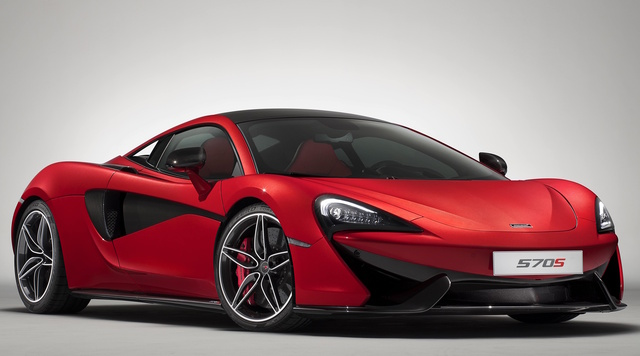 2017 McLaren 570S, Front-quarter view., exterior, manufacturer, gallery_worthy