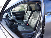2017 Nissan Rogue Hybrid SL front seats in Charcoal leather, gallery_worthy