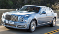2017 Bentley Mulsanne, Front-quarter view., exterior, manufacturer, gallery_worthy