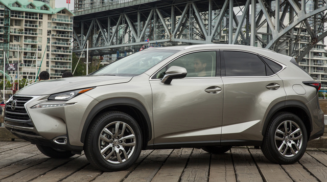 2017 Lexus NX 200t, Front-quarter view., exterior, manufacturer, gallery_worthy