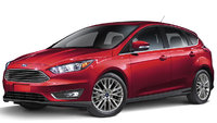 2017 Ford Focus, Front-quarter view., exterior, manufacturer, gallery_worthy