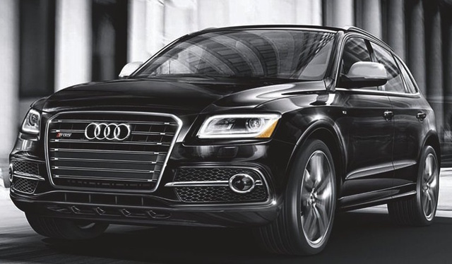 2017 Audi SQ5, Front-quarter view., exterior, manufacturer, gallery_worthy