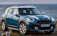 2017 MINI Countryman, Front-quarter view., exterior, manufacturer, gallery_worthy