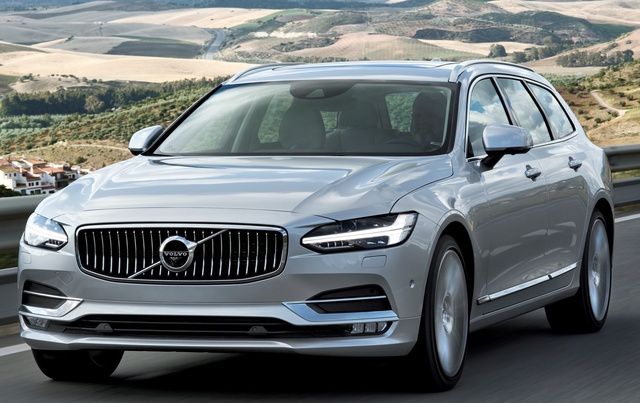 2017 Volvo V90, Front-quarter view., exterior, manufacturer, gallery_worthy