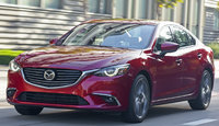 2017 Mazda MAZDA6, Front-quarter view., exterior, manufacturer, gallery_worthy