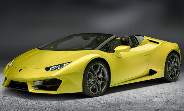 2017 Lamborghini Huracan, Front-quarter view., exterior, manufacturer, gallery_worthy