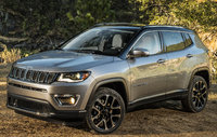 2017 Jeep Compass, Front-quarter view.