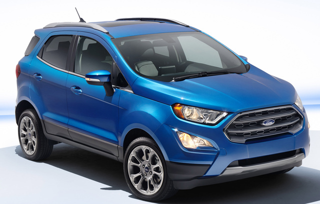 2018 ford ecosport overview cargurus. Black Bedroom Furniture Sets. Home Design Ideas