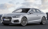 2018 Audi A5, Front-quarter view of European version., exterior, manufacturer