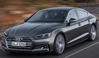 2018 Audi A5 Sportback, Front-quarter view of European version., gallery_worthy
