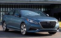 2017 Hyundai Sonata Plug-In Hybrid, Front-quarter view., exterior, manufacturer, gallery_worthy