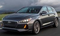 2018 Hyundai Elantra GT, Front-quarter view., exterior, manufacturer