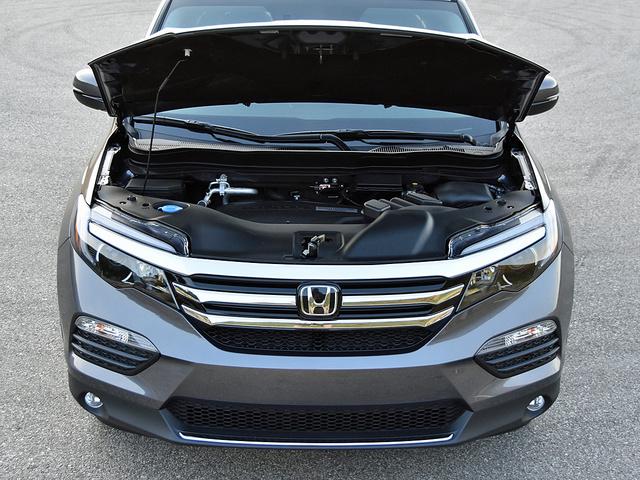 2017 Honda Pilot 3.5-liter V6 Engine, gallery_worthy