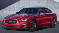 2018 INFINITI Q50, Front-quarter view., exterior, manufacturer, gallery_worthy