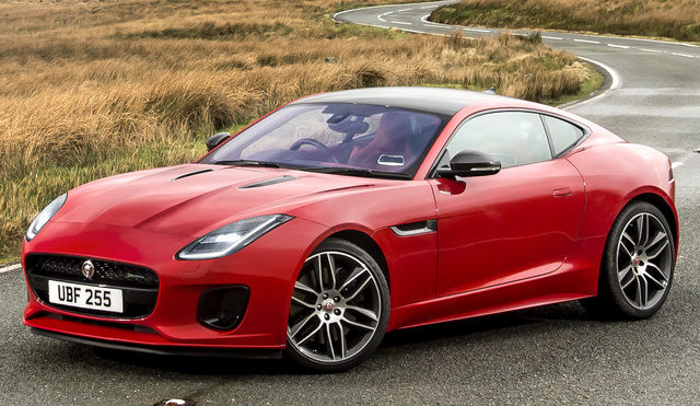 2018 Jaguar F-TYPE, Front-quarter view of UK/European version., exterior, manufacturer, gallery_worthy