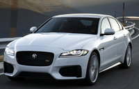 2018 Jaguar XF, Front-quarter view., exterior, manufacturer, gallery_worthy