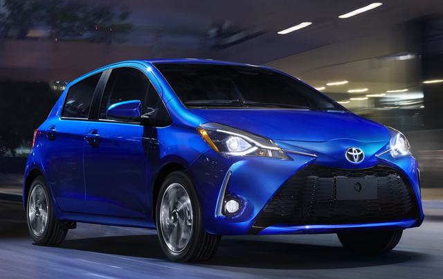 2018 toyota yaris overview cargurus. Black Bedroom Furniture Sets. Home Design Ideas
