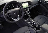 2017 Hyundai Ioniq driver's view