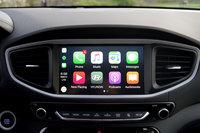 2017 Hyundai Ioniq, CarPlay on the 2017 Ioniq