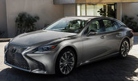 2018 Lexus LS 500, Front-quarter view., exterior, manufacturer, gallery_worthy