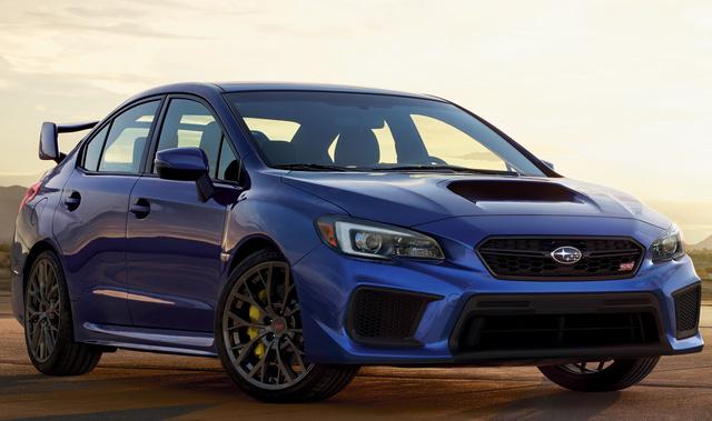Subaru WRX STI Pictures CarGurus - 2018 wrx invoice price