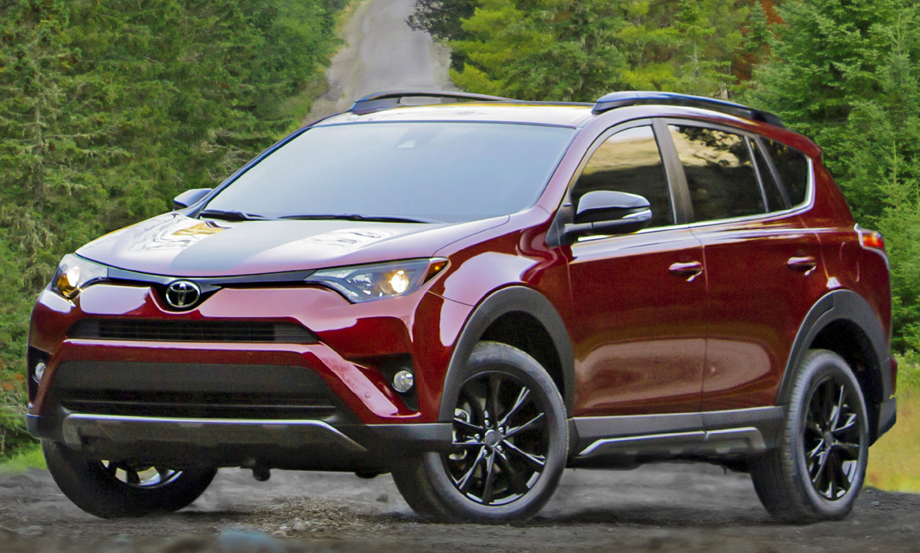 2018 ford escape. exellent escape 2018 toyota rav4 frontquarter view exterior manufacturer  gallery_worthy throughout ford escape
