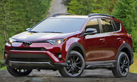 2018 Toyota RAV4, Front-quarter view., exterior, manufacturer, gallery_worthy