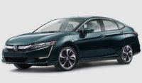 2018 Honda Clarity Plug-In Hybrid, Front-quarter view., exterior, manufacturer, gallery_worthy