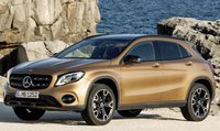 2018 Mercedes-Benz GLA-Class, Front-quarter view of the European version., exterior, manufacturer, gallery_worthy