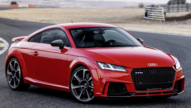 2018 Audi TT RS, Front-quarter view., exterior, manufacturer, gallery_worthy