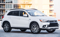 2018 Mitsubishi Outlander Sport, Front-quarter view., exterior, manufacturer, gallery_worthy