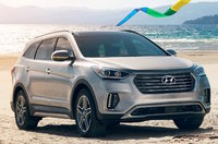 2018 Hyundai Santa Fe, Front-quarter view., exterior, manufacturer, gallery_worthy
