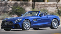 2018 Mercedes-Benz AMG GT, Front-quarter view of European version., exterior, manufacturer, gallery_worthy