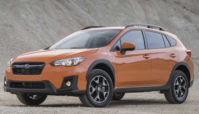 2018 Subaru Crosstrek, Front-quarter view., exterior, manufacturer, gallery_worthy