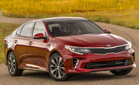 2018 Kia Optima, Front-quarter view., exterior, manufacturer, gallery_worthy