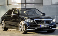 2018 Mercedes-Benz S-Class, Front-quarter view of European version., exterior, manufacturer